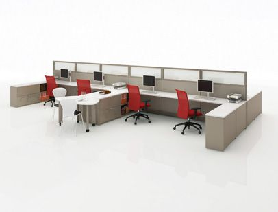 Template Storage System Template worksurface-height units provide space for filing as well as bookcase storage Tags / Keywords:  Template Storage System Worksurface Sprite chair EWC Seating Panel Sapper monitor arm Media ID: 7433