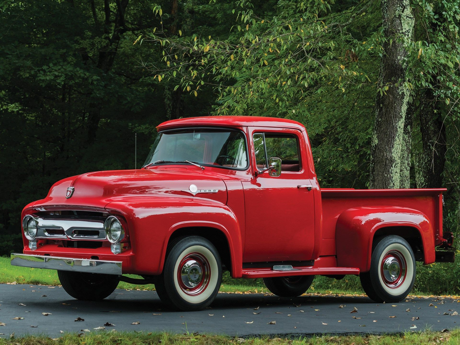1956 Ford F 100 Pickup 1956 Ford F100 Classic Trucks For Sale 1956 Ford Truck