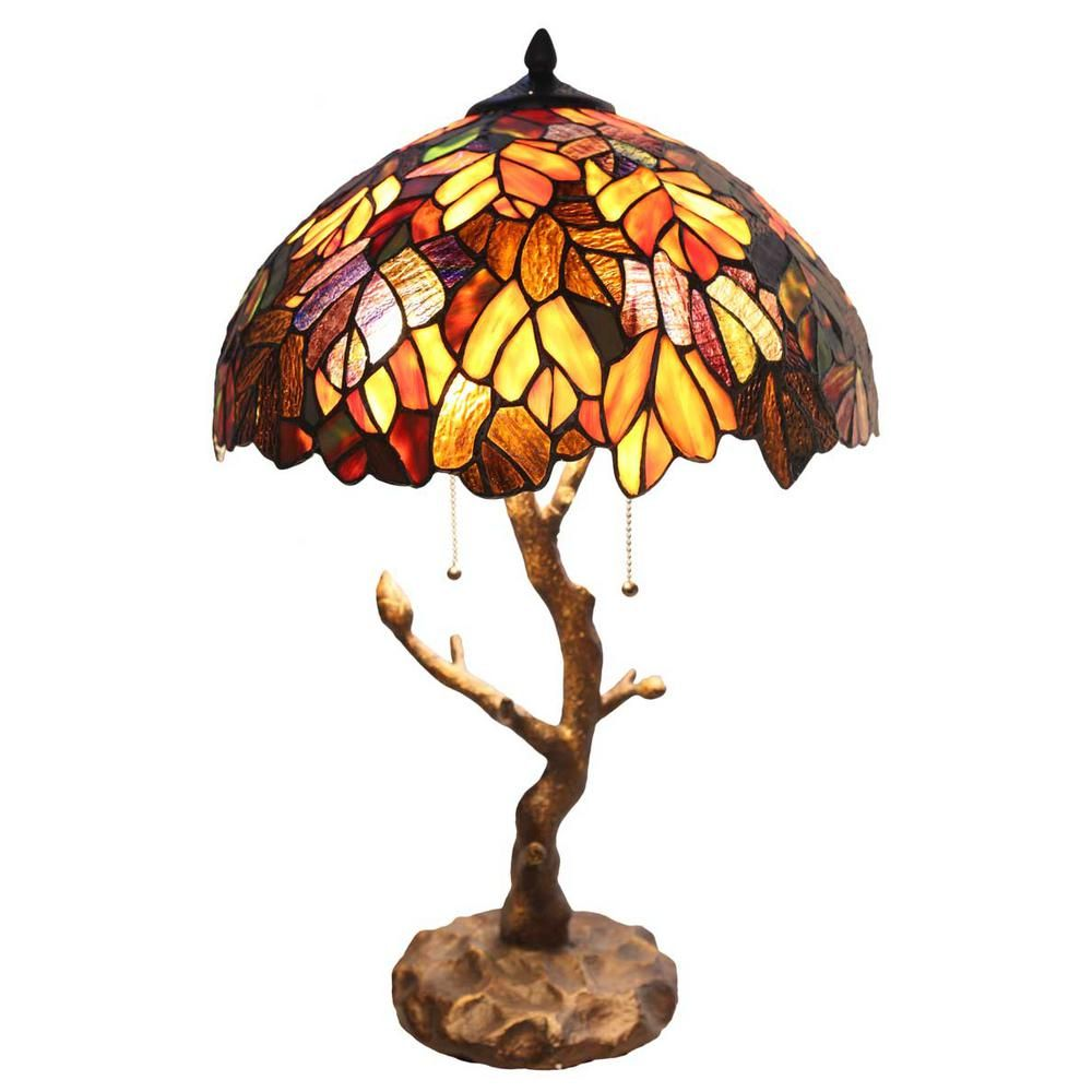 River Of Goods 24 5 In Multi Colored Indoor Table Lamp With