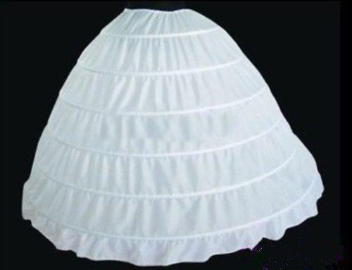 Neue-6-Hoop-hochzeitskled-Brautkleid-Krinoline-Petticoat-Unterroecke-Reifroecke