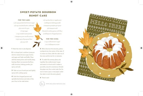 Free printable stationery by Katie Evans with recipes. Thank you card, congratulations, birthday and just saying hello!