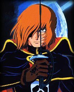 R sultat de recherche d 39 images pour albator 84 manga albator space pirate captain - Coloriage albator ...