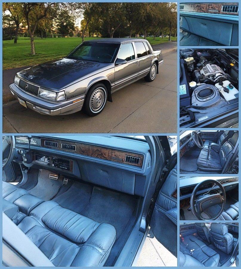 1989 Buick Electra Park Avenue Ultra Sedan Buick Lesabre Buick