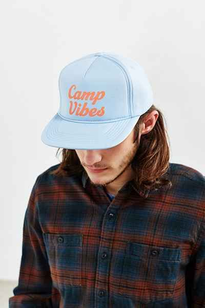 Camp Vibes trucker hat Urban Outfitters f79ac4eac8bb