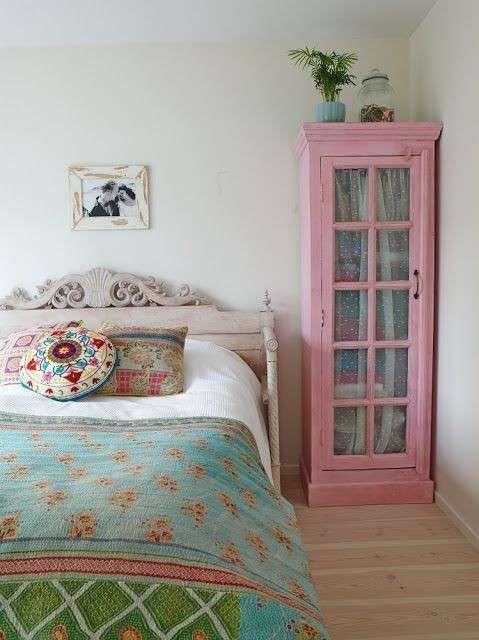 Dormitorio vintage fotos de ideas para decorar detalle - Decoracion vintage dormitorios ...