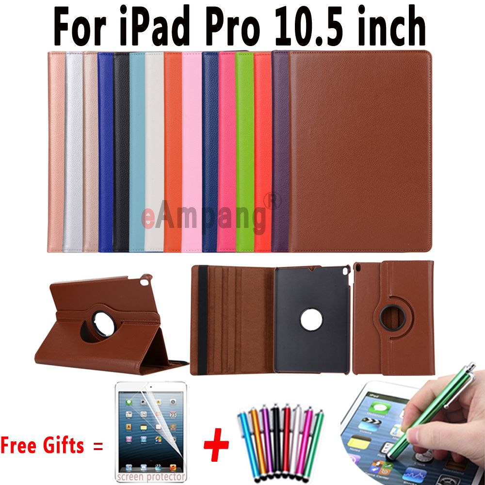 360 Degree Rotating Leather Cover For Ipad Pro 10 5 Case With Stand Function Smart Cover For Apple Ipad Pro 10 5 Inch Case Ipad Cover Ipad Pro Ipad