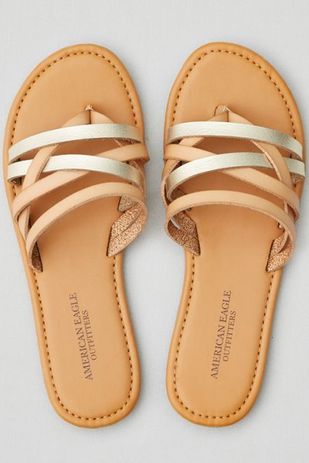 17ff67c1af0 American Eagle Outfitters AE Strappy Flat Sandal | Under $20 ...