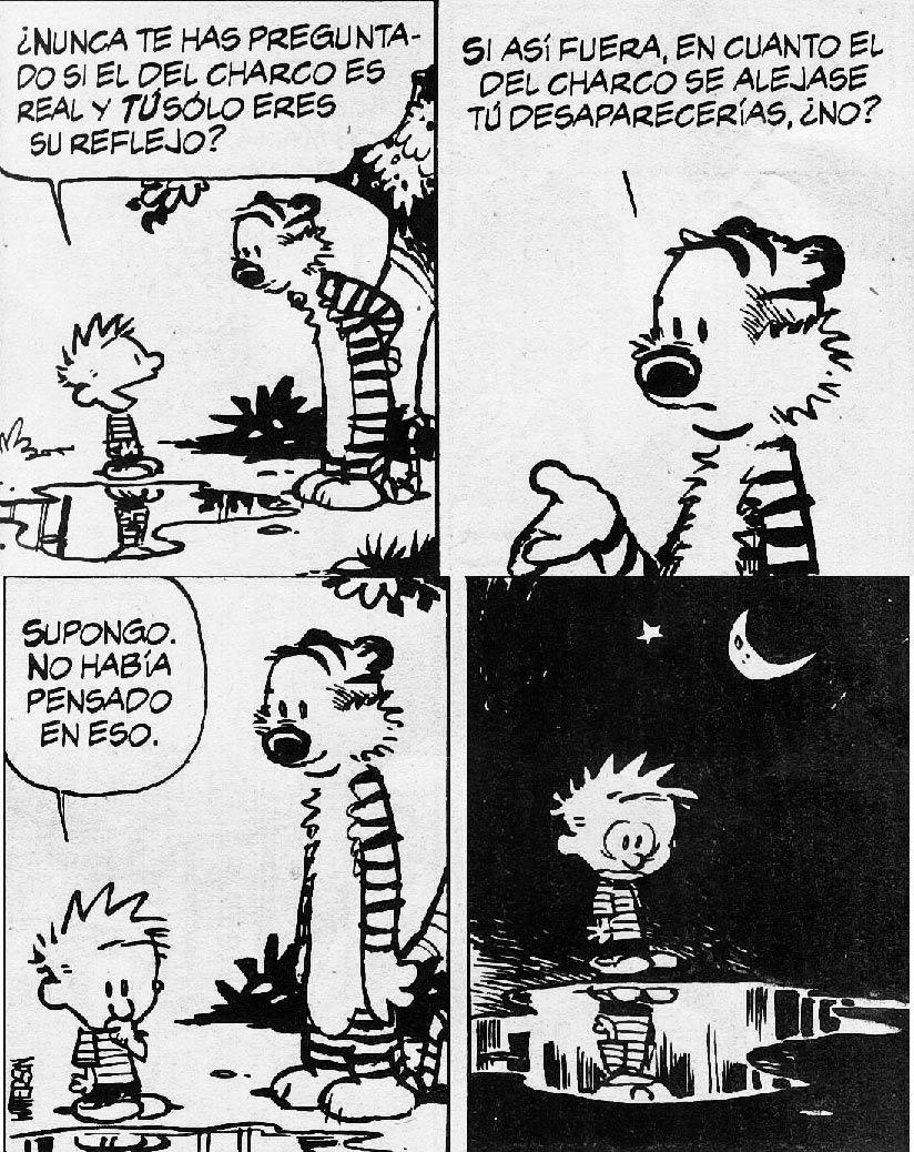 El charco | Calvin & Hobbes | Pinterest