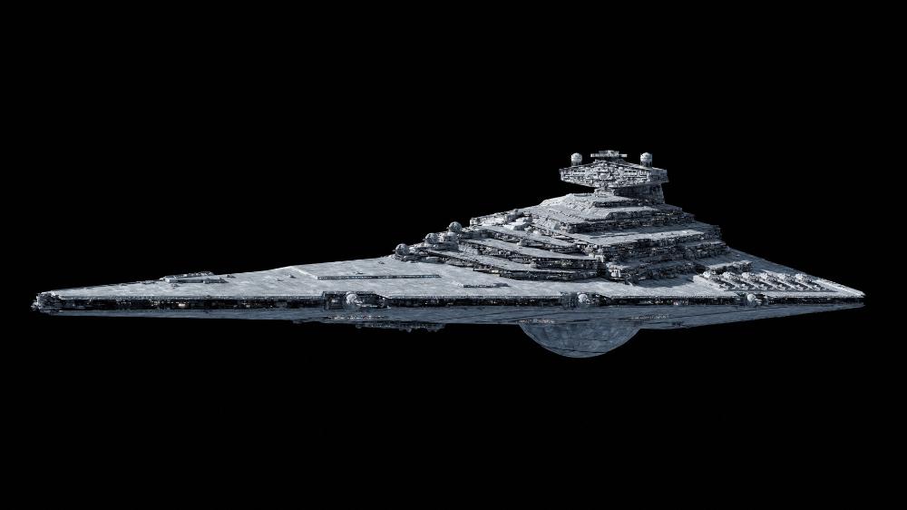 Artstation Allegiance Class Star Destroyer Redux Ansel Hsiao Star Destroyer Star Wars Ships Stars