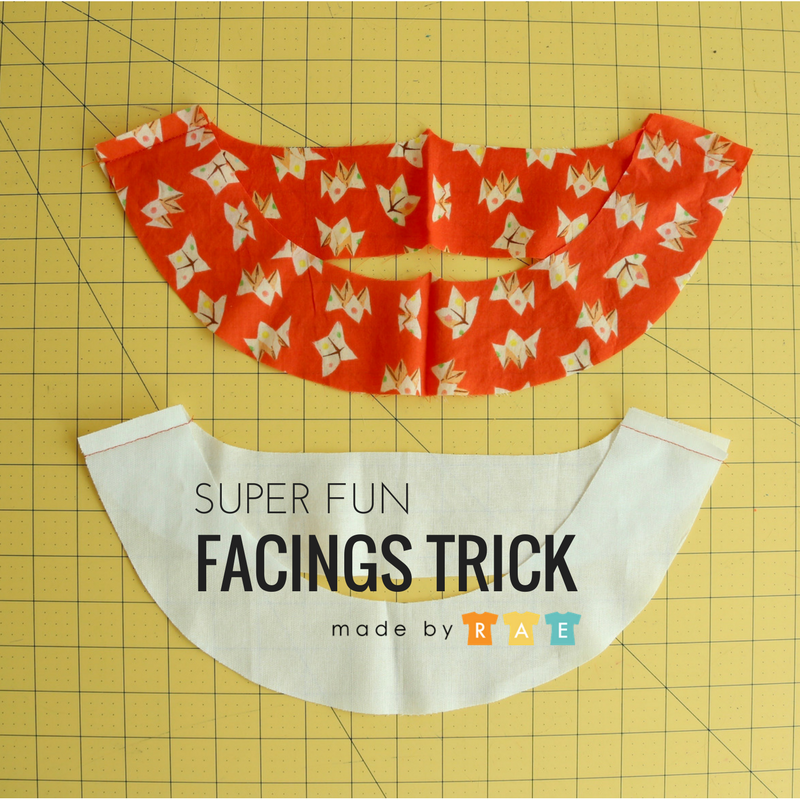 fun facings trick Facings are a great way to finish a neckline or armhole (bias binding is another way — see my 3 bias binding tutorials here!). I like to have beautiful facings without having to fold up and finish the lower edge, which can produce a visible line from the outside of your garment, and I learnedRead more...Visible Man  Visible ...