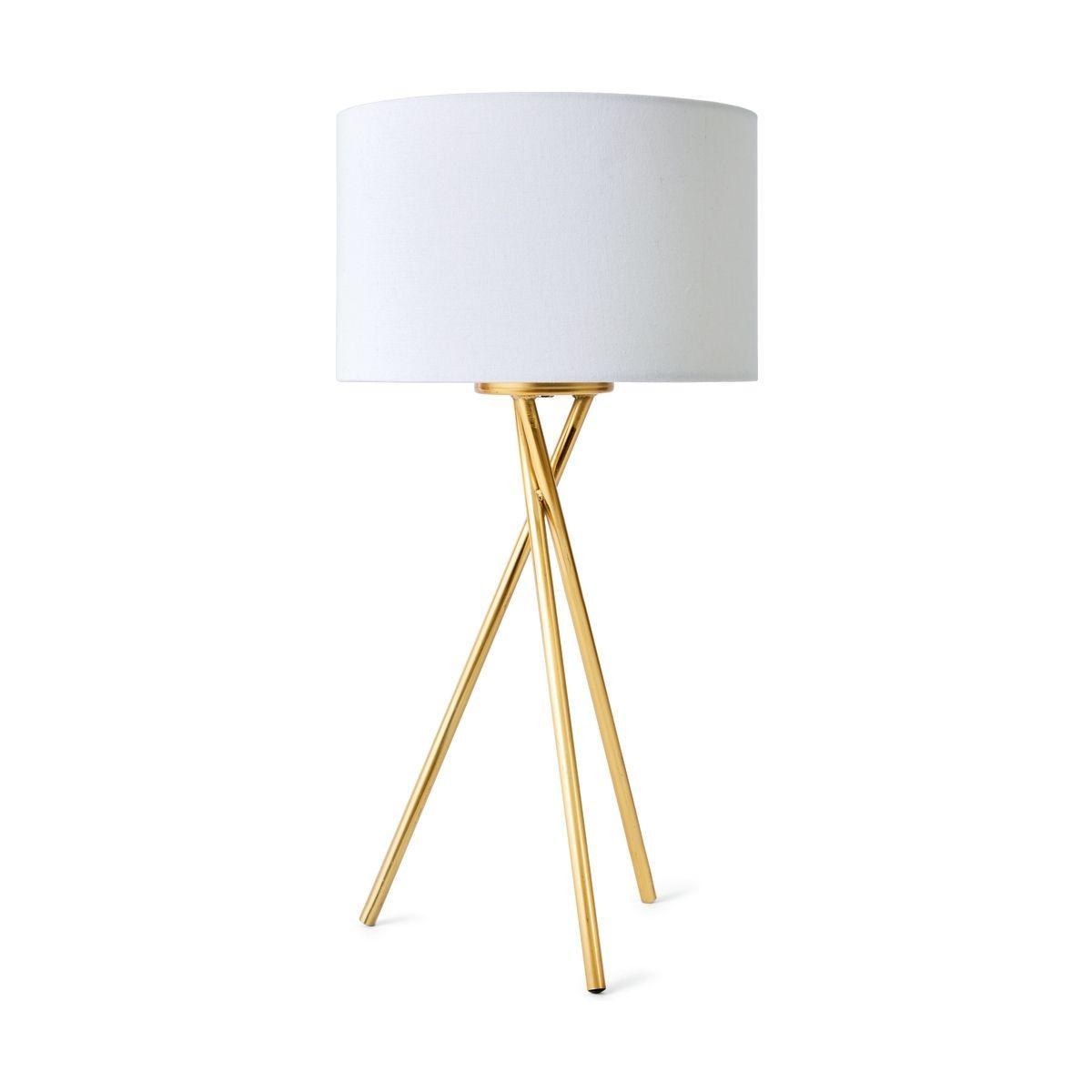 Tripod Table Lamp Brass Look Kmart Tripod Table Lamp Tripod