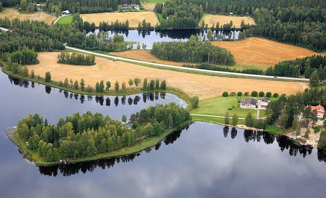 Sapsalampi, Alavus, southern Pohjanmaa, Finland