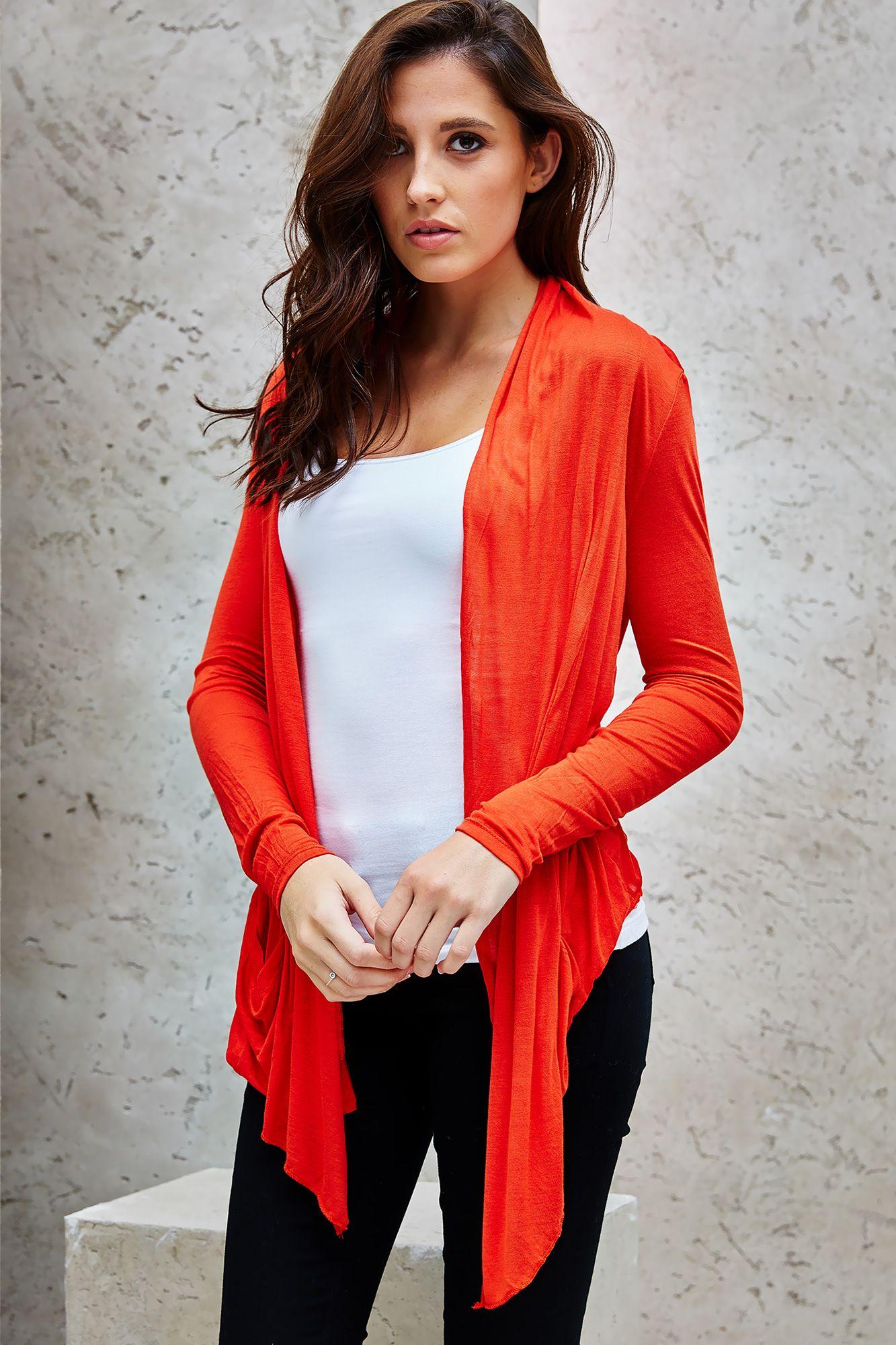 Lightweight Waterfall Cardigan | clothing ♡ | Pinterest ...