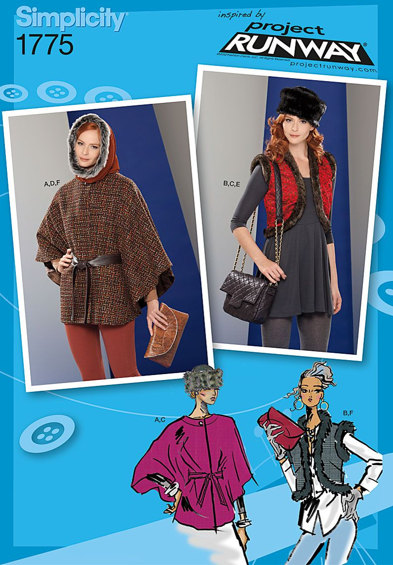 Simplicity Creative Group - Misses\' Accessories Project Runway ...
