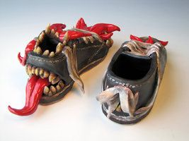 Inspiration for some monster shoes