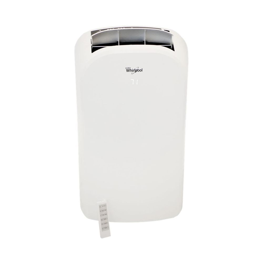 Whirlpool 13 000 Btu Portable Air Conditioner And 11 000 Btu Heater White Window Air Conditioner Cool Things To Buy Air Conditioner Brands