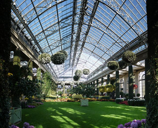 Great Conservatory At Longwood Gardens, Kennett Square, PA. Sooo Many  Family Memories There!