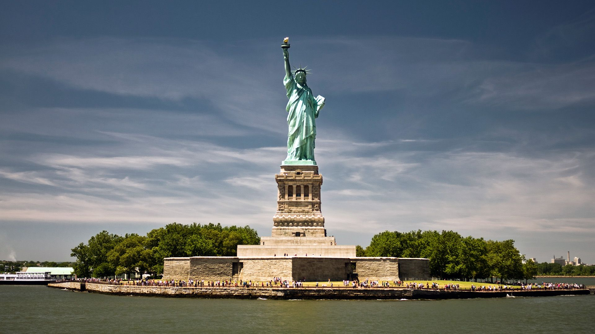 Statue Of Liberty 1920x1080px Hd Desktop Wallpapers Widescreen