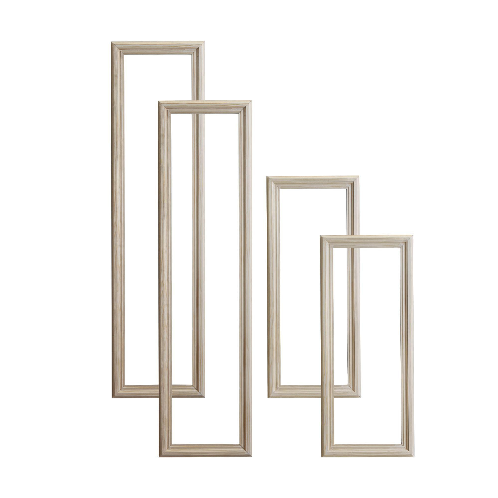 Diy At B Q: 4 Panel Door Moulding Kit, Pack Of 4