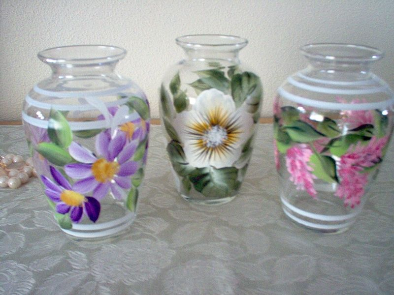 Home One Stroke Painting Glass Painting Ideas Pinterest