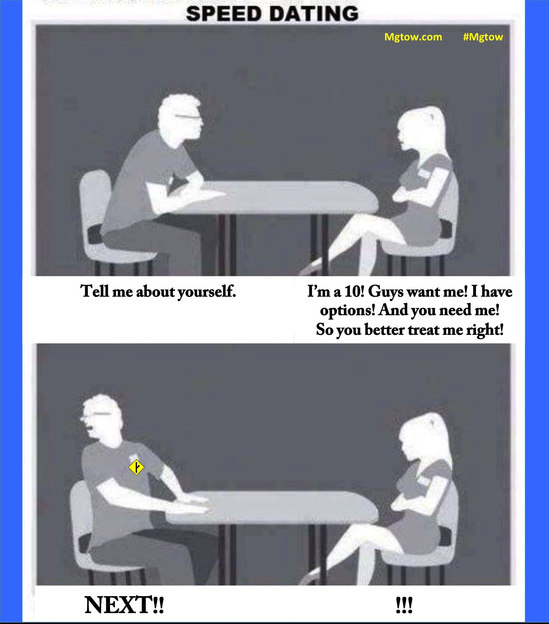 How to succeed at geek speed dating