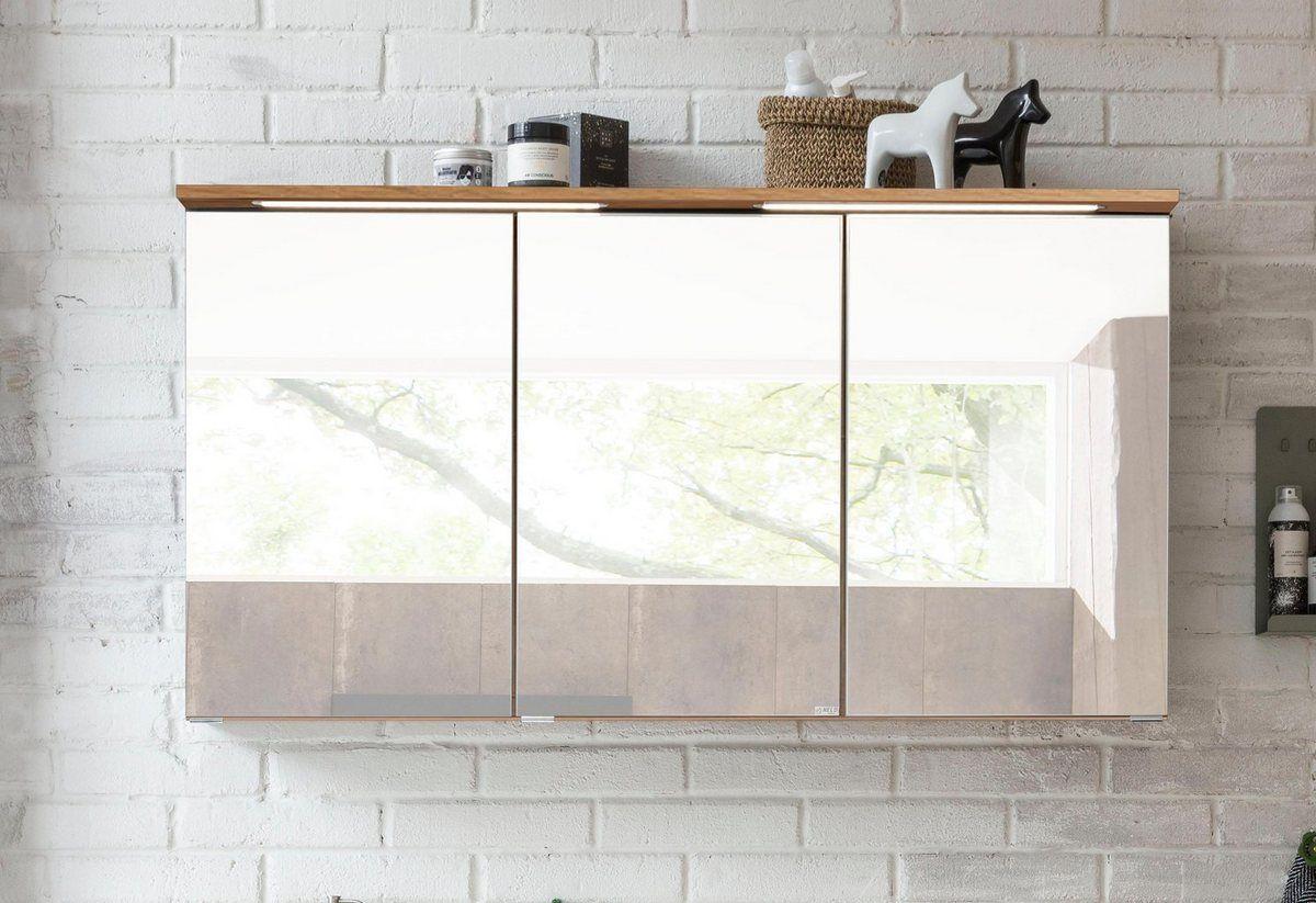 Spiegelschrank Lucca Mit Led Beleuchtung Spiegelschrank Kuchenschrank Und Led Beleuchtung