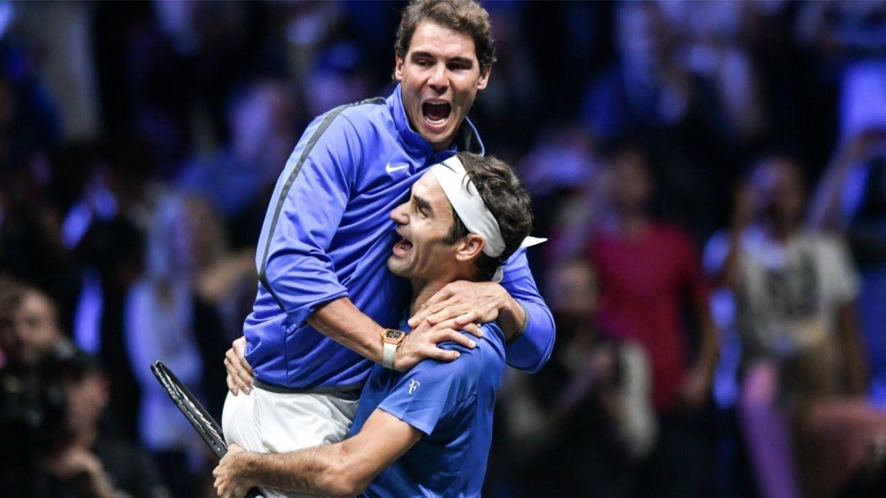 Roger Federer Rafael Nadal Pure Friendship Beautiful Funny Momen Roger Federer Rafael Nadal Tennis World
