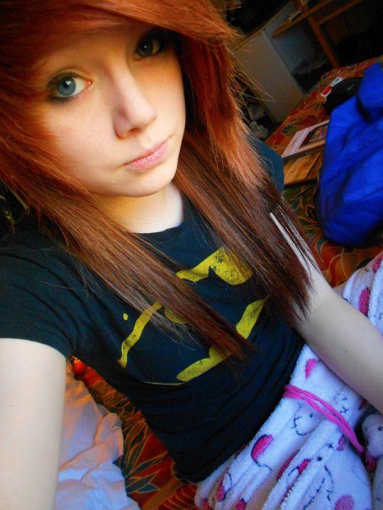 Taylor Terminate Batman Hello Kitty Pajamas Red Auburn Hair Scene Emo Scene Hair Cute Scene Girls Scene Girls