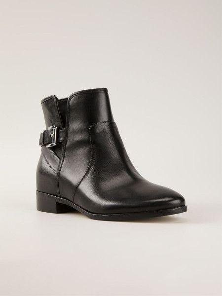 b126b31d74 Women's Black Salem Ankle Boots | Michael Kors Shoes | Boots, Black ...