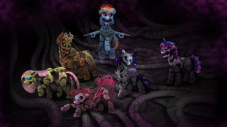 Creepy Grimdark Pony Thread Pony My Little Pony Creepy
