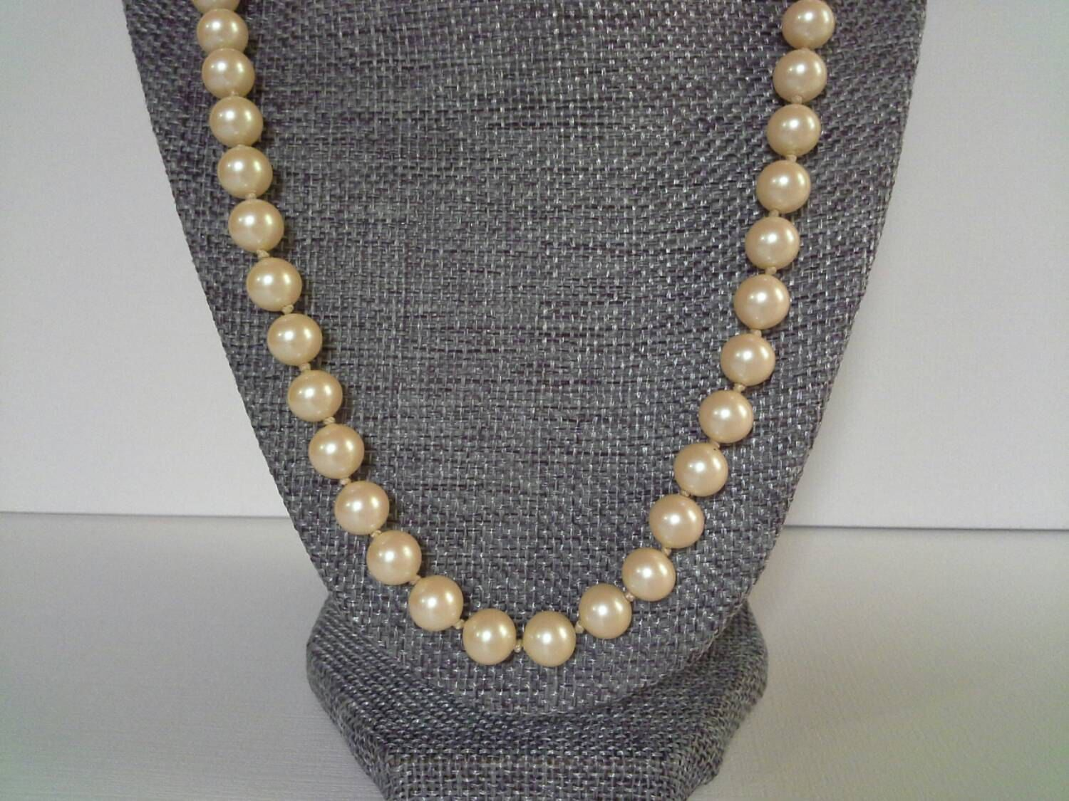 10e88802a1e88 Du Barry Pearls, Sterling Clasp, DuBarry Pearls, Faux Pearls ...