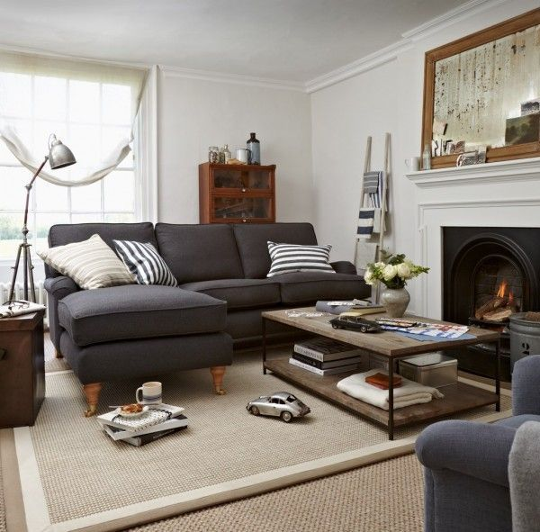 Pin By Debbie Macdonald On Lounge Ideas Eclectic Living Room Living Room Grey Grey Sofa Living Room