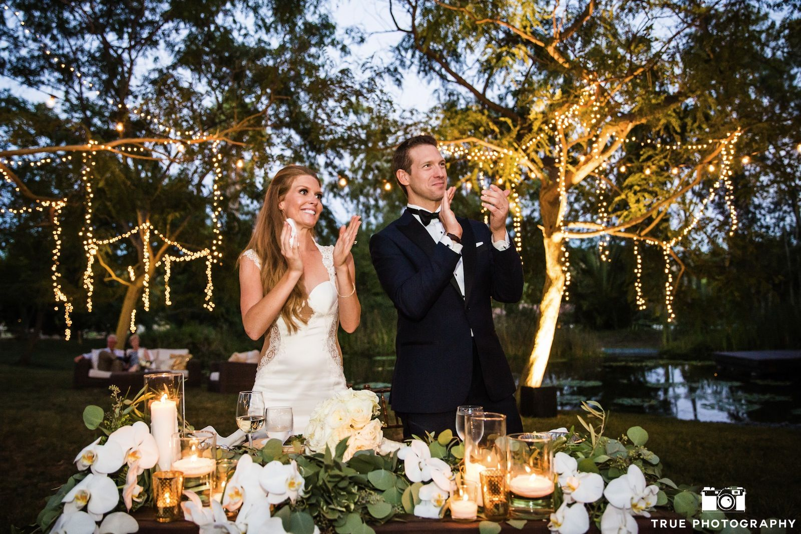 Perfect Whimsical Backyard Wedding At The Sanctuary Estate | Rancho Santa Fe  California Wedding And Event Venue | Venuelust | Estate Venues | Pinterest  | Backyard ...