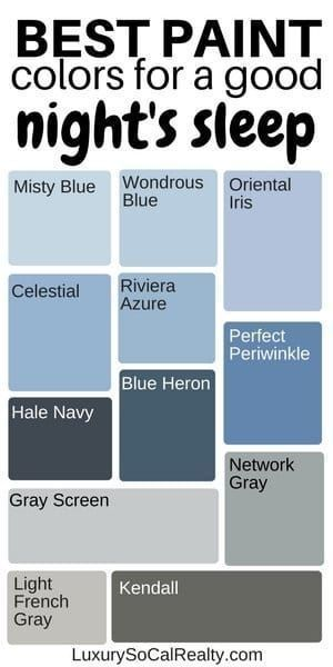 Photo of What Colors Make You Sleep Better? (Best Bedroom Colours) – Paint Colors Bedroom…