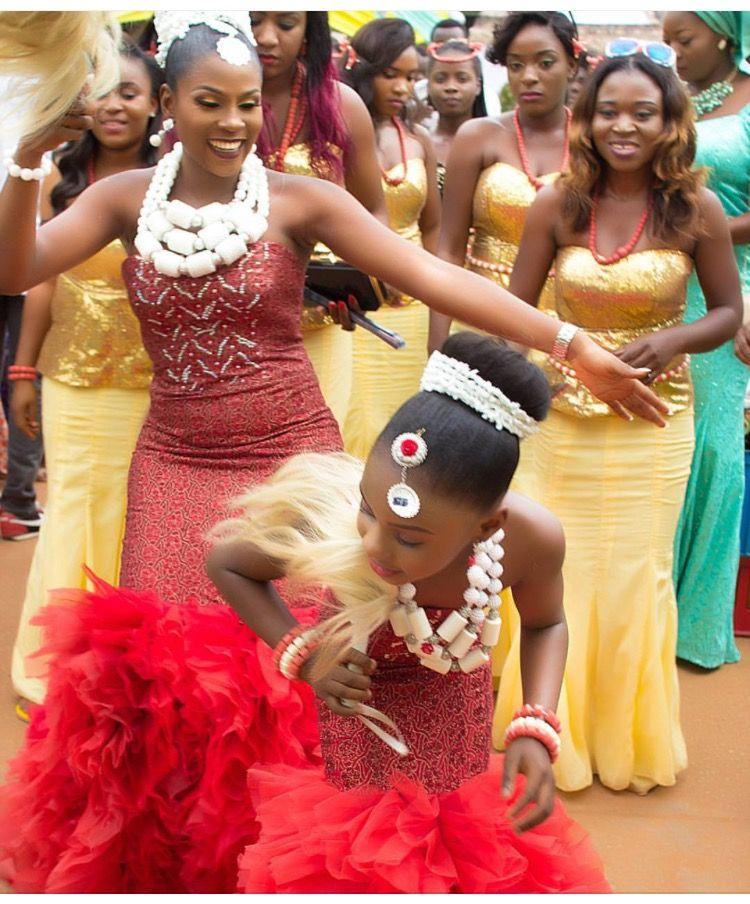 Igba Nkwu Attire idea. | Igba Nkwu // Igbo Traditional Wedding ...