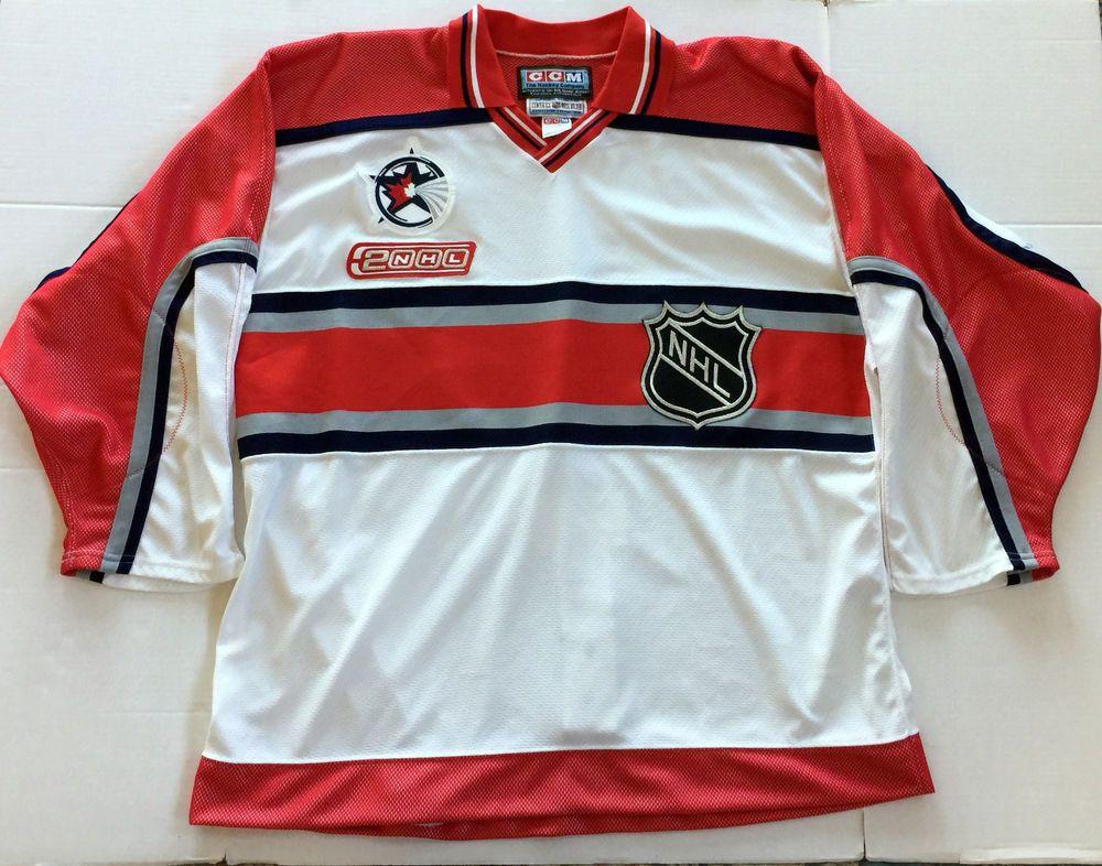 2000-01 NHL All-Star Game CCM Hockey Jersey - Blank No Number NNOB - Size  52 (eBay Link) e140d8291