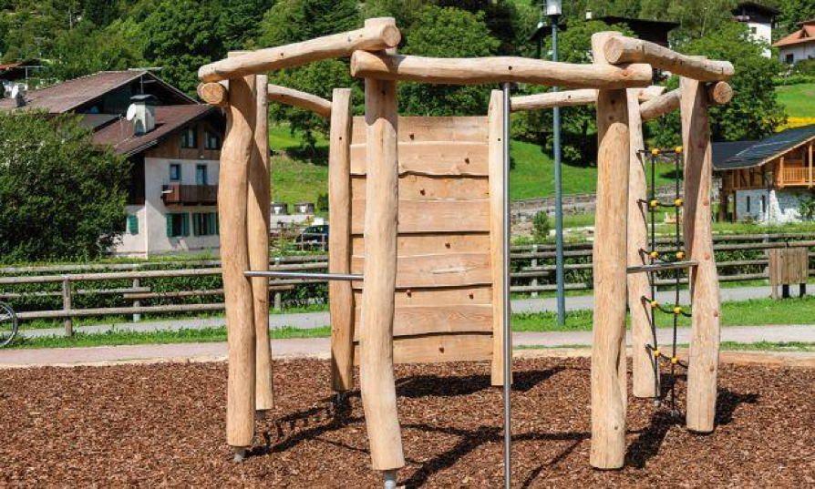 Klettergerüst Holz Selber Bauen : Klettergerüst din en «country achteck kletterwand