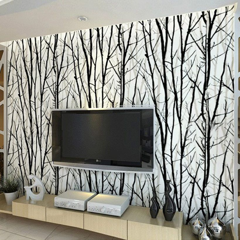 Use Living Room Charge Unit Yuan Roll Vinyl Wallpaper Type Paper Back