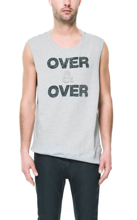 Image 1 of 'OVER & OVER' SLEEVELESS TOP from Zara