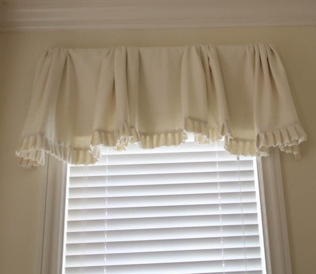 Amazing White Valances For Bedroom Windows