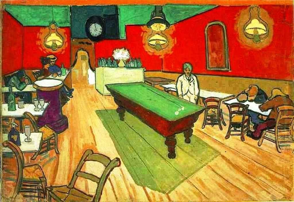 Vincent Van Gogh The Night Cafe In Arles September 1888 Van