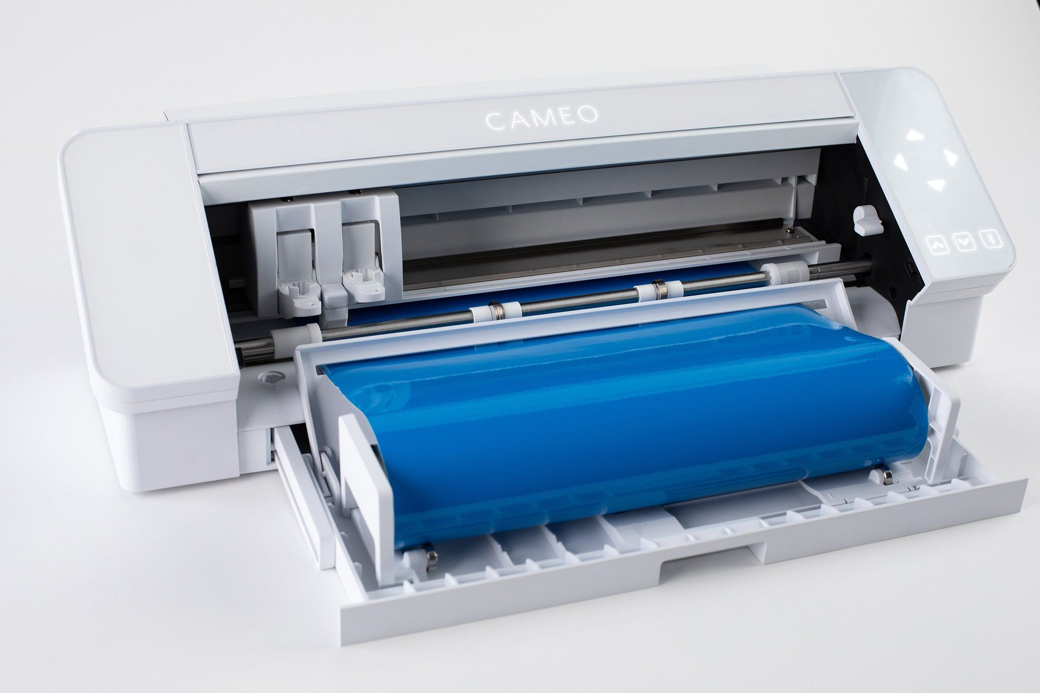 Silhouette White Cameo 4 W Updated Autoblade 3x Speed Roll Feeder Silhouette Cameo Cameo Hot Pink Kitchen