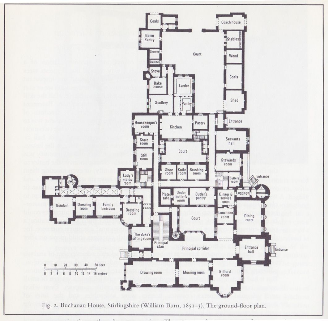 Buchanan House Jpg 1061 1040 Castle Floor Plan Highclere Castle Floor Plan Mansion Floor Plan