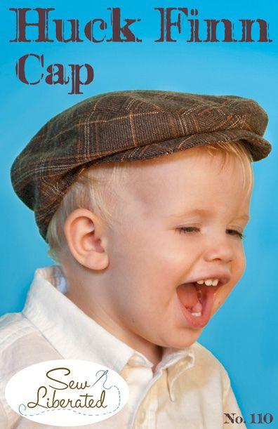 the huck finn cap sewing pattern   Nähen baby, Nähen für kinder und ...