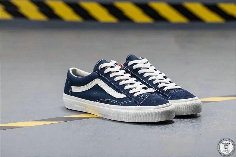 first rate 183ee 018ff Vans Samurai High Tops GD Vans Vault OG Style 36 Retro Dark Blue Shoe Vans  For Sale  Vans
