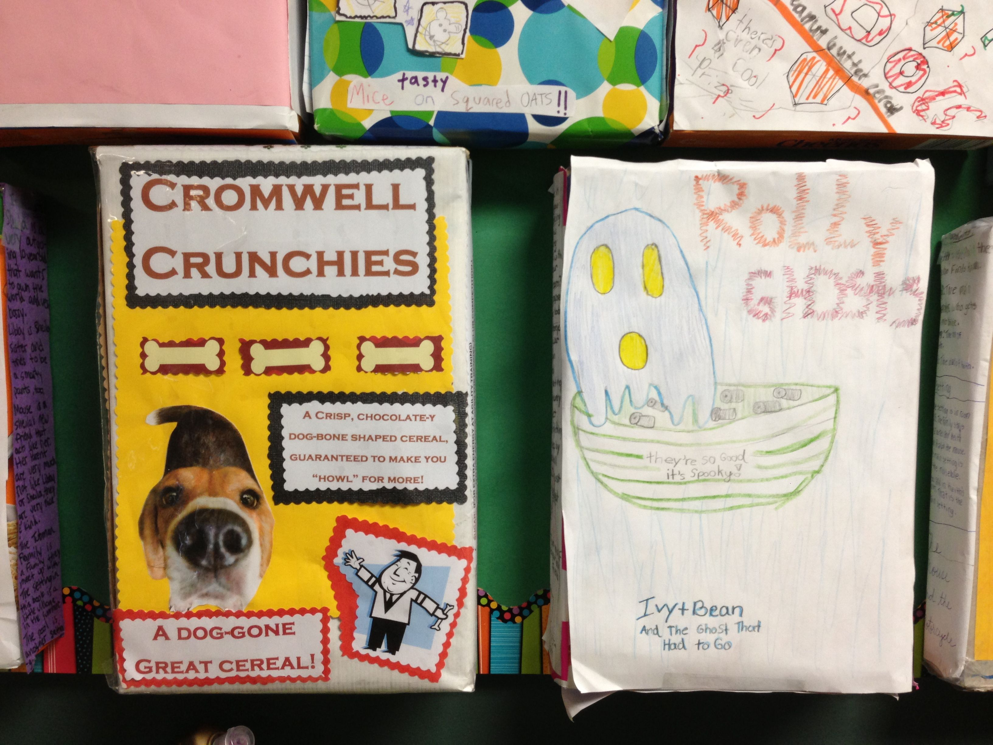 Cereal Box Book Reports  Steven Noyes Th Grade
