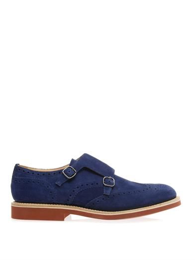 Church s Kelby suede monk-strap shoes  e9b09b4d4ce