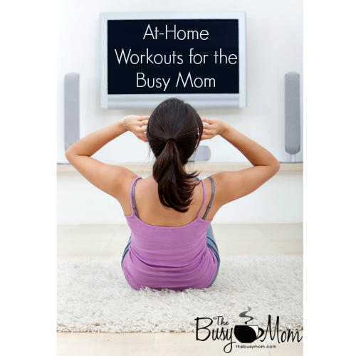 AtHome Workouts for the Busy Mom Quick cardio workout