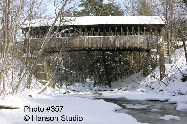 Dingleton Hill Bridge - Cornish, NH