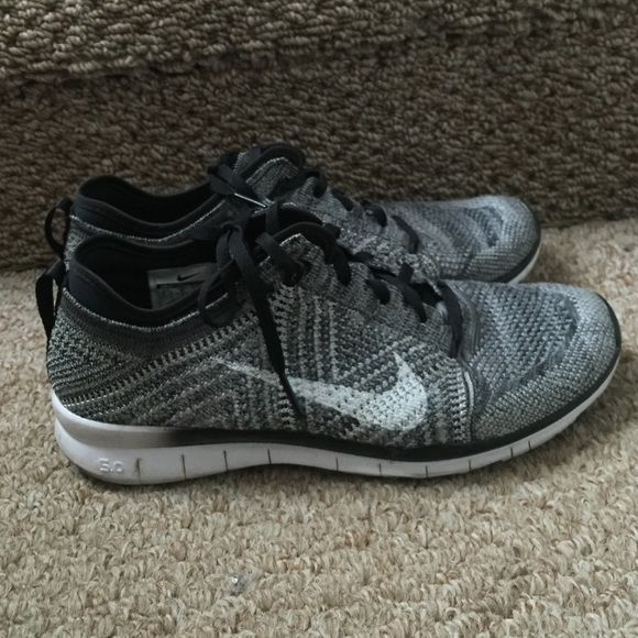 79f55dece7b9 Nike Free TR 5.0 Flyknit Trainer Amazingly comfortable and cute Nike  Flyknits. I love these